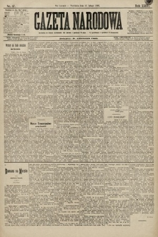 Gazeta Narodowa. 1896, nr47
