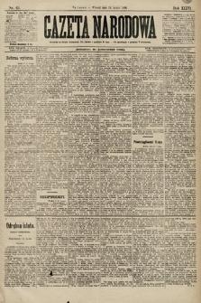 Gazeta Narodowa. 1896, nr49