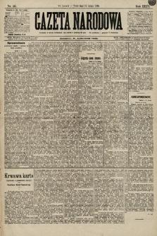 Gazeta Narodowa. 1896, nr50