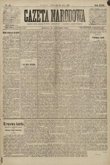 Gazeta Narodowa. 1896, nr53