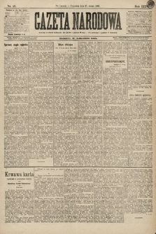 Gazeta Narodowa. 1896, nr58
