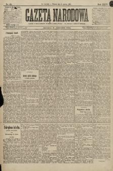 Gazeta Narodowa. 1896, nr63
