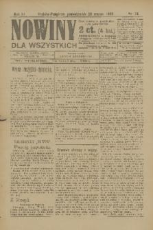 Nowiny dla Wszystkich : dziennik ilustrowany. R.3, 1905, nr74