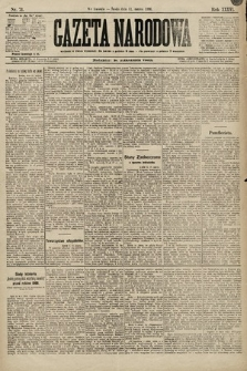 Gazeta Narodowa. 1896, nr71