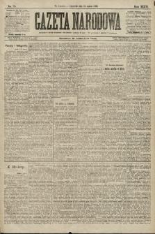 Gazeta Narodowa. 1896, nr79