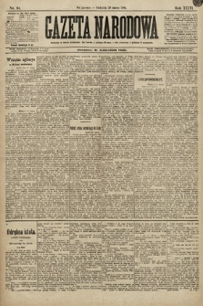 Gazeta Narodowa. 1896, nr89