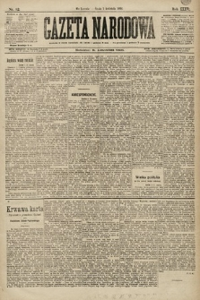 Gazeta Narodowa. 1896, nr92
