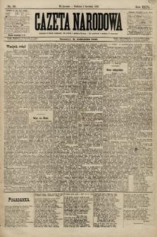 Gazeta Narodowa. 1896, nr96