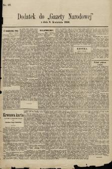 Gazeta Narodowa. 1896, nr97