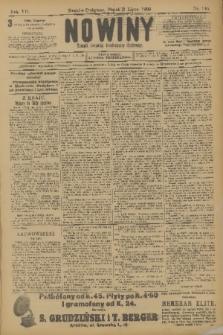 Nowiny : dziennik niezawisły demokratyczny illustrowany. R.7, 1909, nr146
