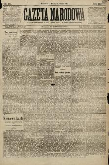 Gazeta Narodowa. 1896, nr104