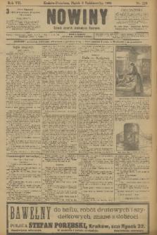 Nowiny : dziennik niezawisły demokratyczny illustrowany. R.7, 1909, nr229
