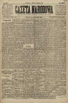 Gazeta Narodowa. 1896, nr118