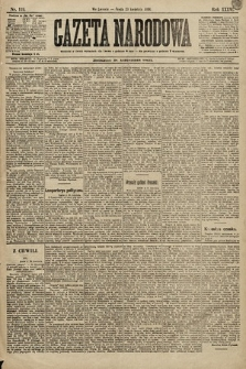 Gazeta Narodowa. 1896, nr119