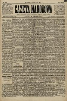 Gazeta Narodowa. 1896, nr123