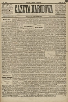 Gazeta Narodowa. 1896, nr132