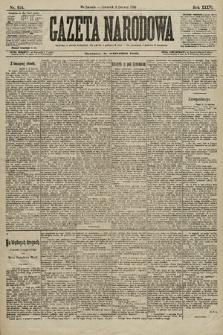 Gazeta Narodowa. 1896, nr154