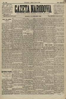 Gazeta Narodowa. 1896, nr156