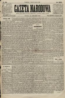 Gazeta Narodowa. 1896, nr160