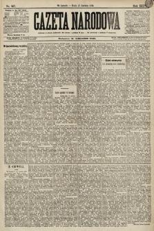 Gazeta Narodowa. 1896, nr167