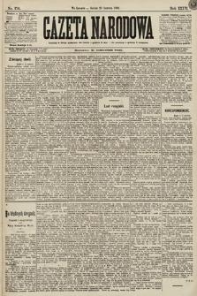 Gazeta Narodowa. 1896, nr170