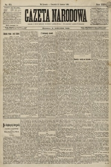 Gazeta Narodowa. 1896, nr175