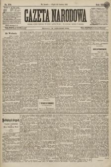 Gazeta Narodowa. 1896, nr176