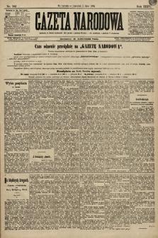 Gazeta Narodowa. 1896, nr182