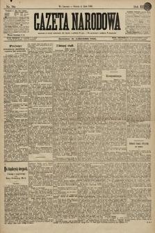 Gazeta Narodowa. 1896, nr184