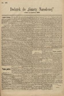 Gazeta Narodowa. 1896, nr186