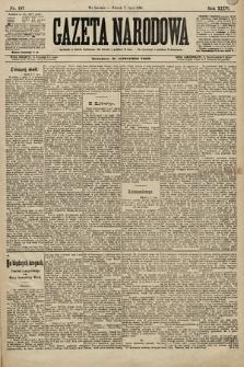Gazeta Narodowa. 1896, nr187