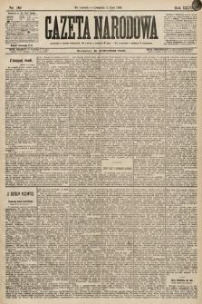 Gazeta Narodowa. 1896, nr189