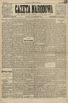 Gazeta Narodowa. 1896, nr191
