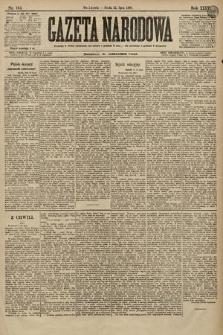 Gazeta Narodowa. 1896, nr195