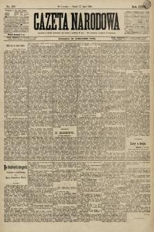 Gazeta Narodowa. 1896, nr197