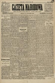 Gazeta Narodowa. 1896, nr198