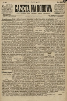 Gazeta Narodowa. 1896, nr201