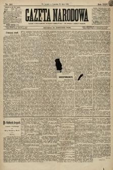 Gazeta Narodowa. 1896, nr203
