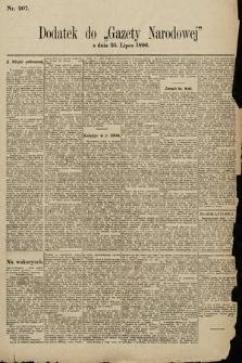 Gazeta Narodowa. 1896, nr207