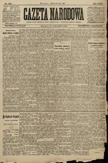Gazeta Narodowa. 1896, nr208