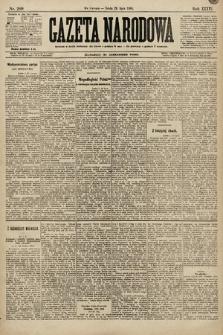 Gazeta Narodowa. 1896, nr209