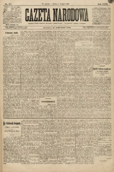 Gazeta Narodowa. 1896, nr212