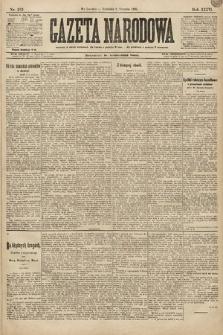 Gazeta Narodowa. 1896, nr213