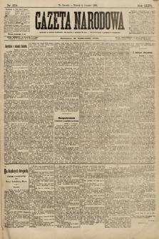 Gazeta Narodowa. 1896, nr215