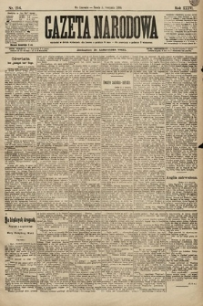 Gazeta Narodowa. 1896, nr216