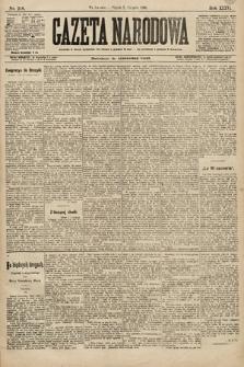 Gazeta Narodowa. 1896, nr218