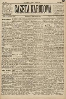 Gazeta Narodowa. 1896, nr223