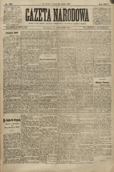Gazeta Narodowa. 1896, nr240