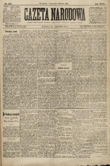 Gazeta Narodowa. 1896, nr245