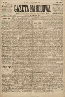 Gazeta Narodowa. 1896, nr246